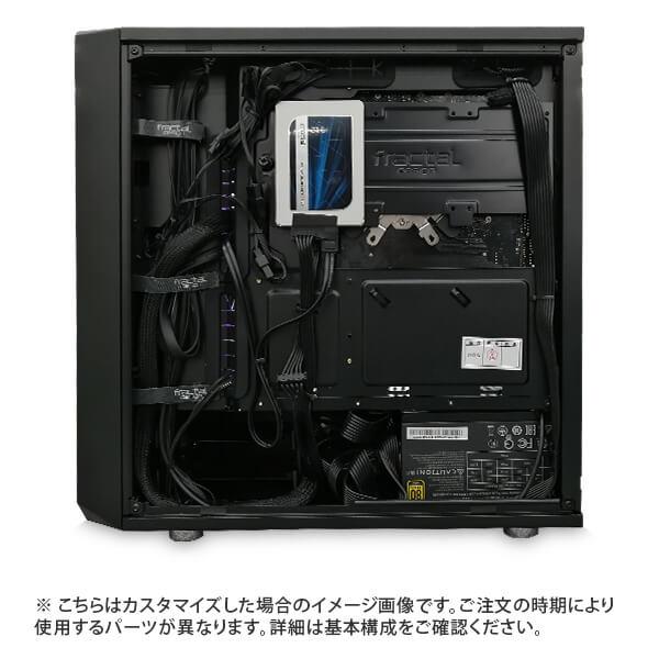 (Core i9-10900K/メモリ:DDR4 ARGB 16GB(8GBx2)/SSD:500GB/HDD:-/電源:750W 80PLUS GOLD/グラボ:-) Harigane-337525  カスタマイズ可能 BTOパソコン Harigane Gaming ゲーミングPC CMINI