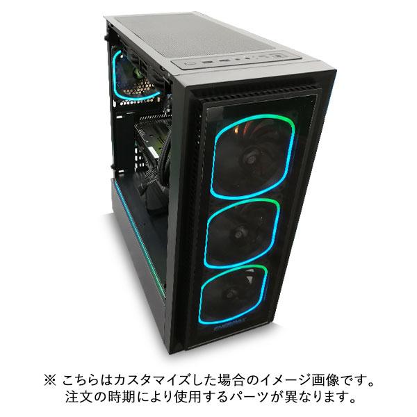 (Ryzen7 5800X/メモリ:DDR4 8GB(8GBx1)/SSD:500GB NVMe/HDD:-/電源:750W 80PLUS GOLD/グラボ:GT710) Barikata-343128  カスタマイズ可能 BTOパソコン Barikata SF30