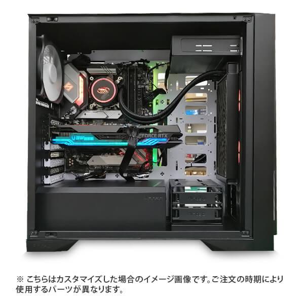 (Core i9-10900K/メモリ:DDR4 16GB(8GBx2)/SSD:500GB/HDD:-/電源:750W 80PLUS GOLD/グラボ:-) Harigane-337529  カスタマイズ可能 BTOパソコン P101