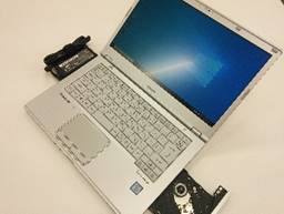 """【中古PC】Panasonic モバイルノートCF-LX4 Core i5 6300U 4GB HDD320GB DVDマルチ 14.0"""" テンキー× カメラ〇 無線LAN○ Win10Pro64bit(MAR)"""