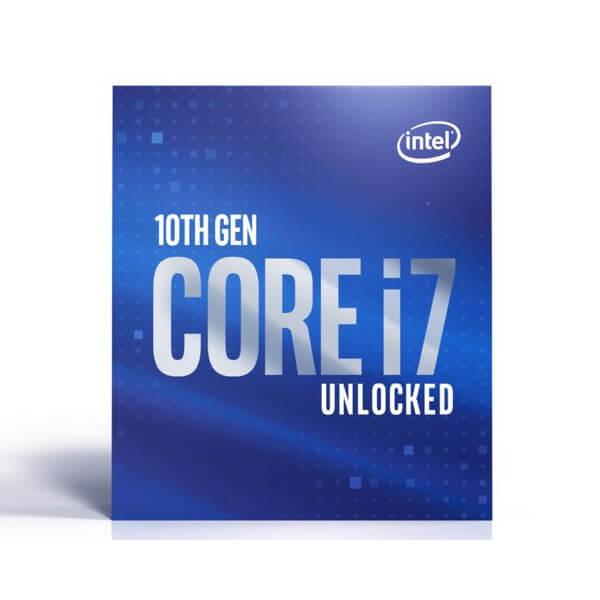 CPU インテル intel Core i7 10700K BOX Comet Lake クロック周波数 3.8GHz ソケット形状 LGA1200 [Corei710700K]