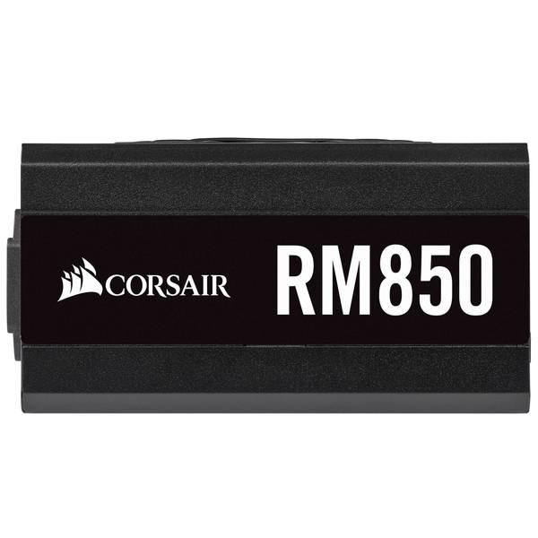 電源ユニット Corsair コルセア RM850 CP-9020196-JP 対応規格:ATX12V v2.52/EPS 2.92 電源容量:850W 80PLUS認証:Gold サイズ:150x160x86mm 重量:1.7kg [CP9020196JP]