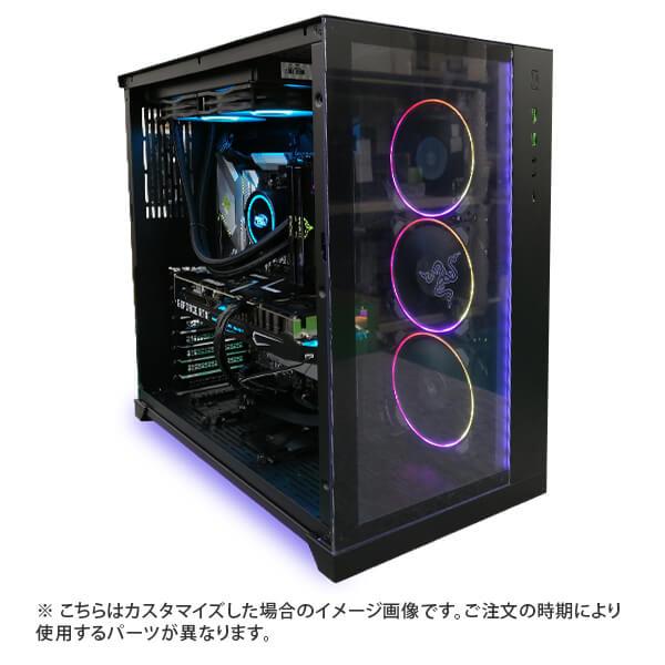 (Core i9-10900K/メモリ:DDR4 ARGB 16GB(8GBx2)/SSD:500GB/HDD:-/電源:750W 80PLUS GOLD/グラボ:-) Harigane-337536  カスタマイズ可能 BTOパソコン Harigane Gaming ゲーミングPC RAZER