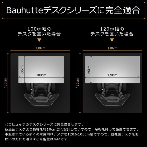 Bauhutte (バウヒュッテ) デスク用テント ぼっちてんと ブラック 幅130cm BBT1-130-BK お取り寄せ ※メーカー在庫潤沢