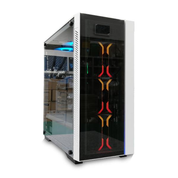 (基本構成 CPU:Ryzen 5 3600/メモリ:DDR4 16GB/SSD:NVMe 250GB/HDD:-/電源:750W 80 PLUS Gold/グラボ:GT710) SGR53600A1X250TMD ゲーミングPC Sengoku Gaming BTOパソコン Barikata カスタマイズ可能 Ryzen5