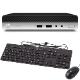 HP EliteDesk 800 G4 SF 4RW21PA#ABJ(Corei5/8GB/HDD500GB/DVDマルチ/Win10Pro) お取り寄せ