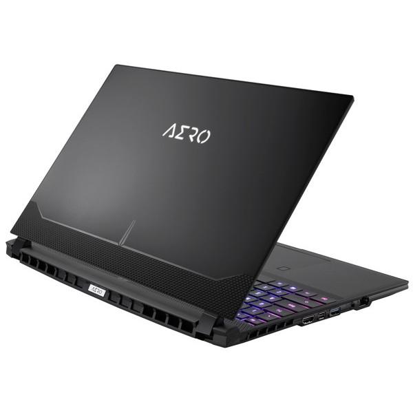 15.6インチ 有機EL 4K / Core i7 11800H / RTX 3080 / メモリ 16GB / SSD 1TB / Win10 Pro / GIGABYTE ギガバイト ゲーミングノートパソコン AERO 15 OLED YD-73JP624SP