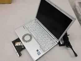 """【中古PC】Panasonic モバイルノート CF-SZ5WD65S Core i5 6200U (2.3G)4GBSSD120GB DVDマルチ12.1"""" カメラ〇 無線LAN○ Win10home64bit(MAR)"""