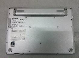 """【中古PC】Panasonic モバイルノート CF-SZ5PDAVS Core i5 6300U (2.4G)4GB320GB ドライブなし 12.1"""" カメラ〇 無線LAN○ Win10home64bit(MAR)"""