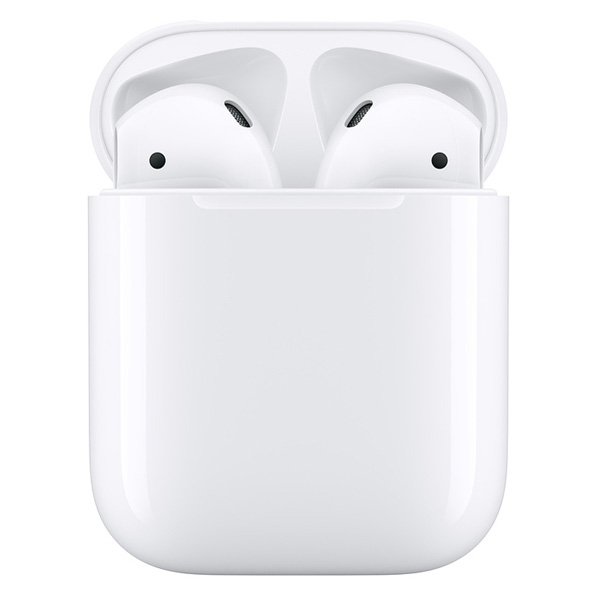 イヤホン・ヘッドホン APPLE アップル AirPods with Charging Case 第2世代 MV7N2J/A タイプ:インナーイヤー 装着方式:完全ワイヤレス(左右分離型)[MV7N2JA]