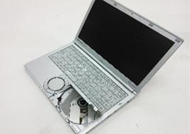 """【中古PC】Panasonic モバイルノートCF-SX3JDHCS Core i5 4310U(2.0G)4GB320GB ドライブなし 12.1"""" カメラ〇 無線LAN○ Win10home64bit(MAR)"""