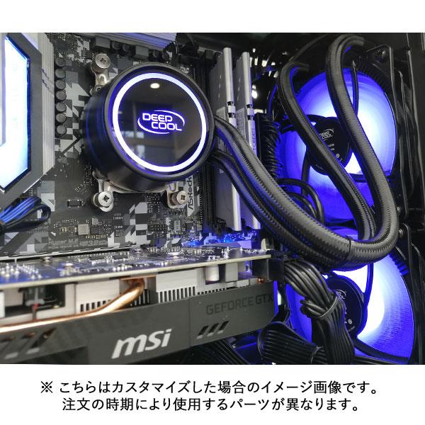 (Core i7-10700/メモリ:DDR4 8GB(8GBx1)/SSD:500GB NVMe/HDD:-/電源:650W 80PLUS BRONZE/グラボ:-) Barikata-398851  カスタマイズ可能 BTOパソコン Barikata PS15