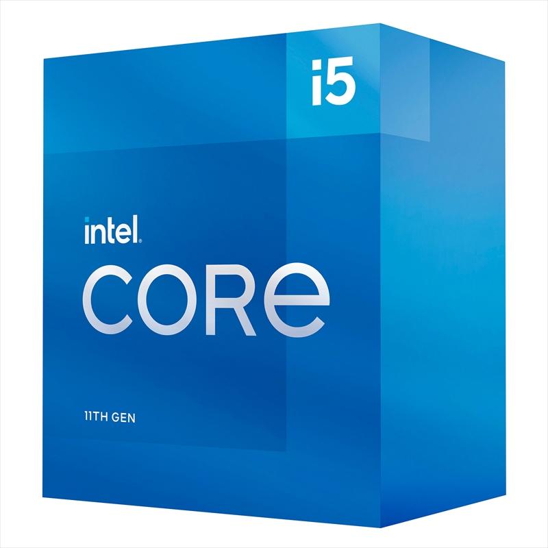 CPU インテル11th intel Core i5 11500 BOX RocketLake-S クロック周波数 2.7GHz ソケット形状 LGA1200 [BX8070811500]