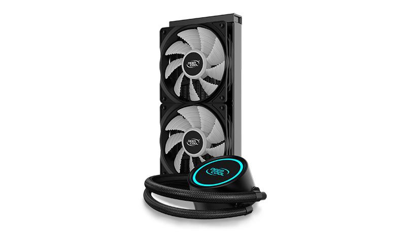 DEEPCOOL 水冷CPUクーラー DP-H12RF-GL240V2(GAMMAXX L240 V2 )
