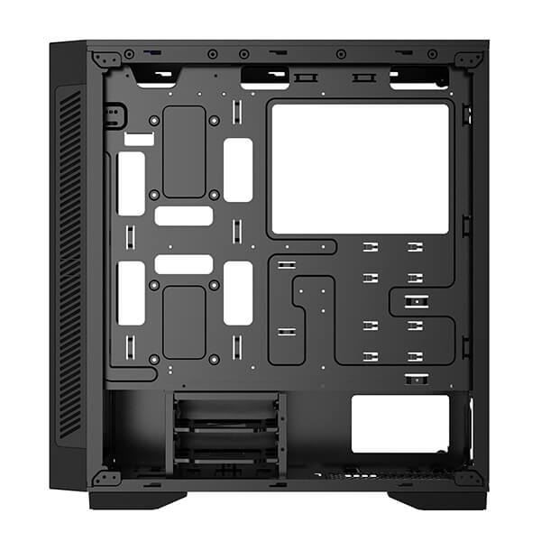 (基本構成 CPU:i7-10700/メモリ:DDR4 16GB(8GB×2)/SSD: 480GB/HDD:-/電源:750W 80 PLUS Gold/グラボ:-) HGI710700AS1Z480TMD ゲーミングPC Harigane Gaming BTOパソコン Barikata カスタマイズ可能