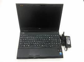 """【中古PC】NECノートPC VersaPro PC-VK26TXZEM Core i5 4210U(1.7〜2.7G) 4GB SSD128GB DVD-ROM 15.6"""" カメラ× 無線LAN○ テンキー〇 Win10home64bit(MAR)"""