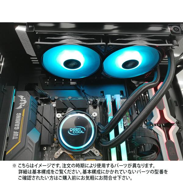 (基本構成 CPU:i9-10900K/メモリ:DDR4 16GB/SSD:NVMe 500GB/HDD:-/電源:750W 80 PLUS Gold/グラボ:-) SGI910900KA1Z500TMD ゲーミングPC Sengoku Gaming BTOパソコン Barikata カスタマイズ可能