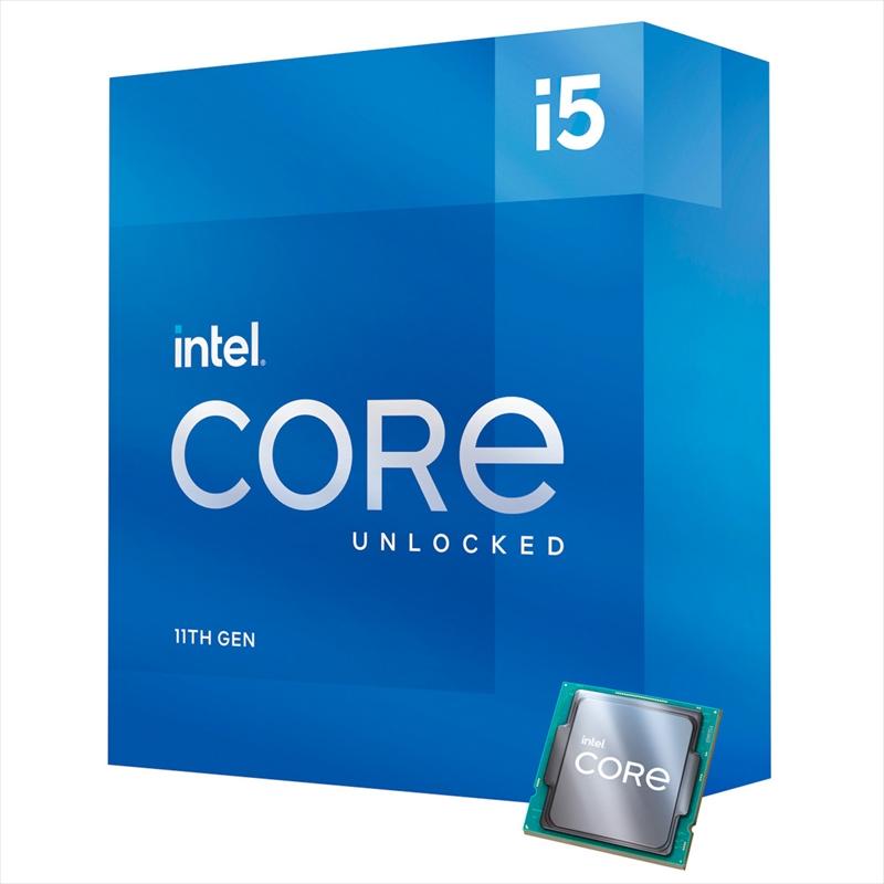 CPU インテル11th intel Core i5 11600K BOX RocketLake-S クロック周波数 3.9GHz ソケット形状 LGA1200 [BX8070811600K]