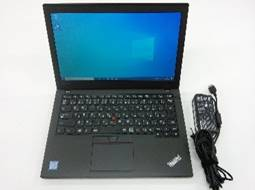 "【中古PC】Lenovo ThinkPad X260 20F5A11800 Core i5 6200U(2.3G) 4GB 500GB ドライブなし 12.5"" カメラ× 無線LAN○ テンキー× Win10home64bit(MAR)"