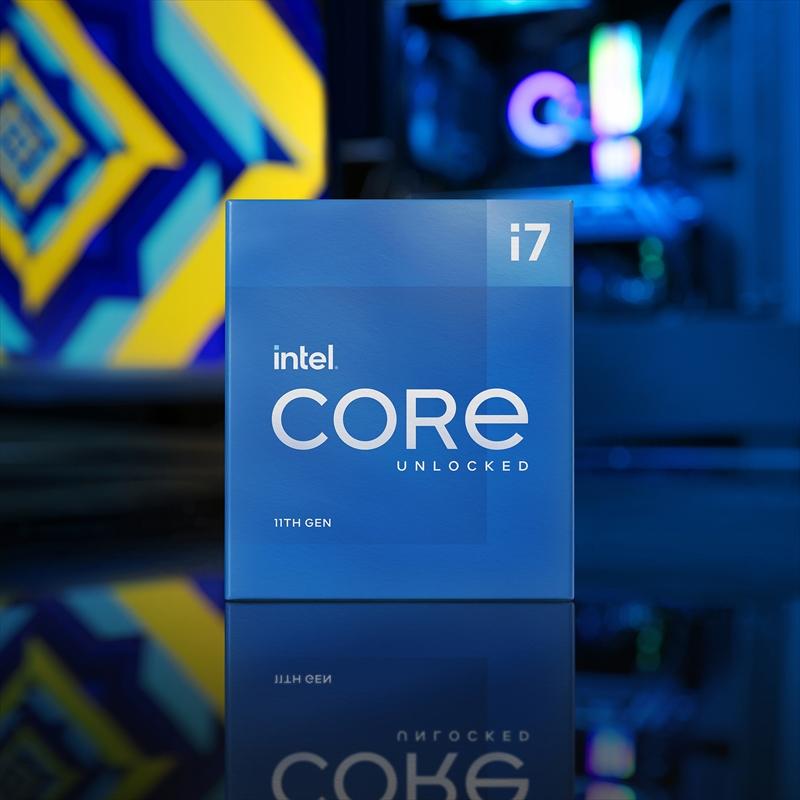 CPU インテル11th intel Core i7 11700KF BOX RocketLake-S クロック周波数 3.6GHz ソケット形状 LGA1200 [BX8070811700KF]