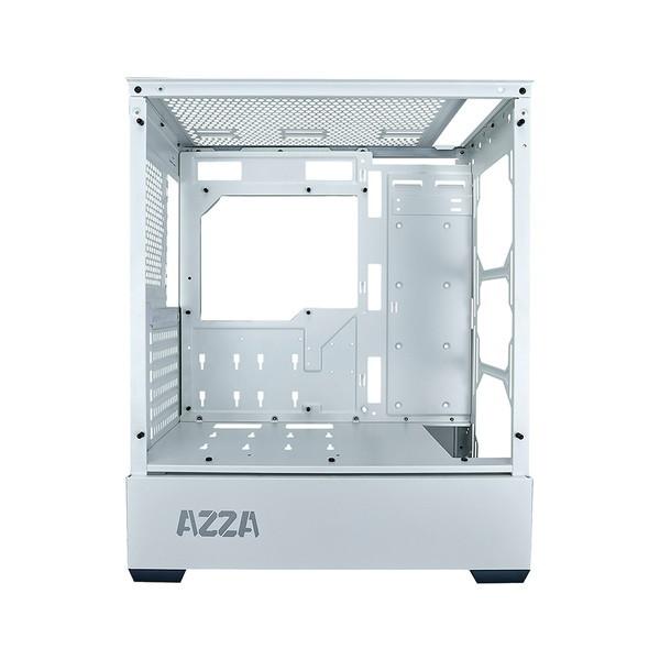 AZZA PCケース 型番 APOLLO 430 WHITE(CSAZ-430W-DF2) 【キャンセル不可・北海道沖縄離島配送不可】 -お取り寄せ品-