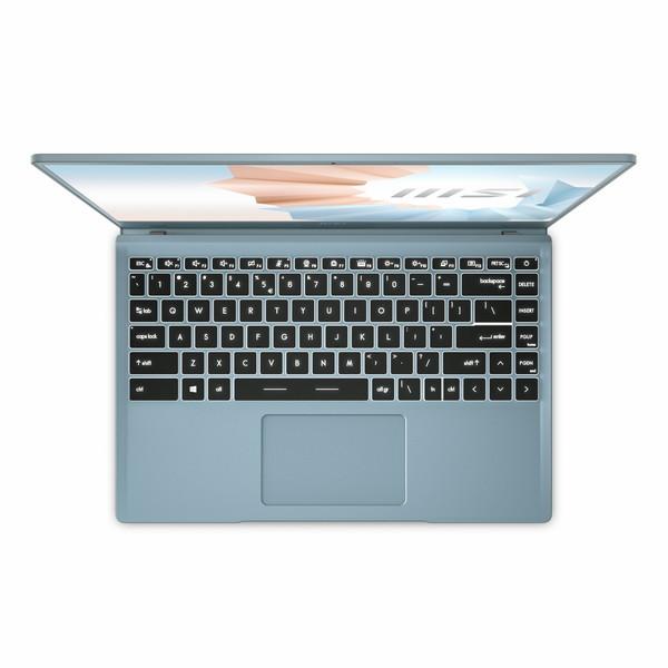 14インチ / Core i7-1165G7 / UHD グラフィックス/ メモリ 16GB / SSD 512GB / Win10 Home / 薄型軽量ビジネスノートPC msi エムエスアイ Modern-14-B11M-461JP