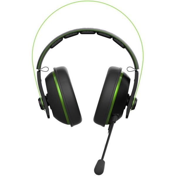ASUS ゲーミングヘッドセット Cerberus V2 GREEN お取り寄せ