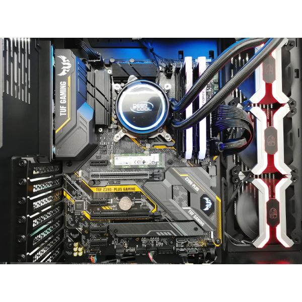 (基本構成 CPU:i9-9900K/メモリ:DDR4 16GB/SSD:NVMe 500GB/HDD:-/電源:750W 80 PLUS Gold/グラボ:-) SGI99900KA1Z500TMD ゲーミングPC Sengoku Gaming BTOパソコン Barikata カスタマイズ可能
