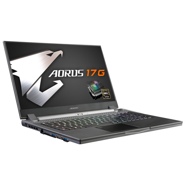 GIGABYTE ギガバイト 英語配列 メカニカルキーボードゲーミングノートPC  CPU CML-H i7-10875H 搭載 AORUS 17G XB-8JP2130MP