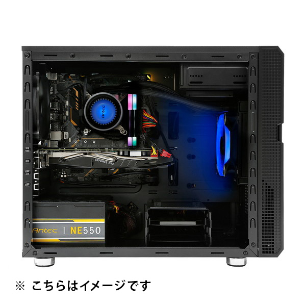 (Ryzen5 5600X/メモリ:DDR4 16GB(8GBx2)/SSD:500GB NVMe/HDD:-/電源:650W 80PLUS Bronze/グラボ:GT710) Harigane-343172  カスタマイズ可能 BTOパソコン Harigane ゲーミングPC P5