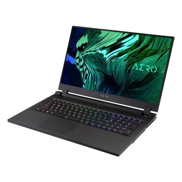 17.3インチ 4K / Core i7 11800H / RTX 3070 / メモリ 16GB / SSD 1TB / Win10 Pro / GIGABYTE ギガバイト ゲーミングノートパソコン AERO 17 HDR XD-73JP524SP