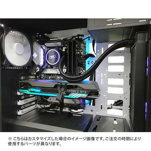 (Core i5-11400/メモリ:DDR4 16GB(8GBx2)/SSD:500GB NVMe/HDD:-/電源:750W 80PLUS GOLD/グラボ:-) Harigane-343174  カスタマイズ可能 BTOパソコン P101