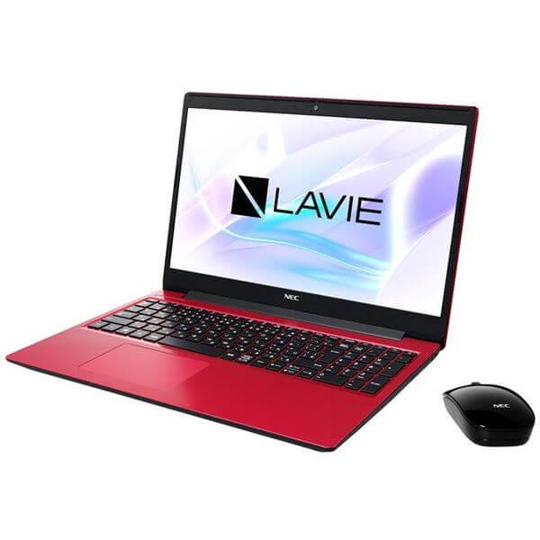 ノートパソコン NEC 日本電気 LAVIE Note Standard NS600/RAR PC-NS600RAR 2020年春モデル カームレッド 15.6インチ AMD Ryzen 7 3700U SSD 256GB メモリ 8GB Windows 10 Home 64bit  Ryzen7[PCNS600RAR]