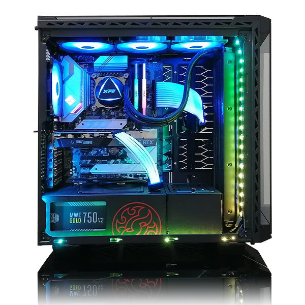【XPG】(Core i9-11900K/メモリ:DDR4 RGB 16GB(8GBx2)/SSD:500GB NVMe/HDD:-/電源:750W 80PLUS GOLD/グラボ:RTX 3070) Harigane-391575 カスタマイズ可能 BTOパソコン ゲーミングPC BATTLECRUISER