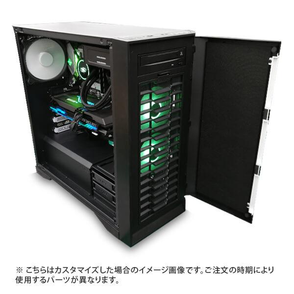 (Core i7-11700/メモリ:DDR4 16GB(8GBx2)/SSD:500GB NVMe/HDD:-/電源:750W 80PLUS GOLD/グラボ:-) Harigane-343175  カスタマイズ可能 BTOパソコン P101