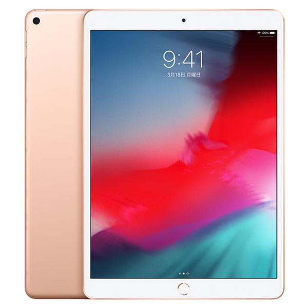 タブレットPC APPLE(アップル)  iPad Air 10.5インチ 第3世代 Wi-Fi 64GB 2019年春モデル ゴールド (画面サイズ:10.5インチ CPU:Apple A12 記憶容量:64GB) [MUUL2JA]