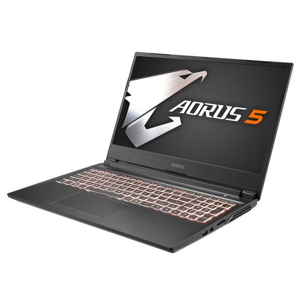 【最終特価】15.6インチ / Core i7 / GTX 1660 TI / メモリ : 16GB / SSD : 512GB / Win10 Home / ノートパソコン GIGABYTE ギガバイト AORUS 5 SB-7JP1130SH [無料特典] ヘルプデスク60分(30分×2回)付き