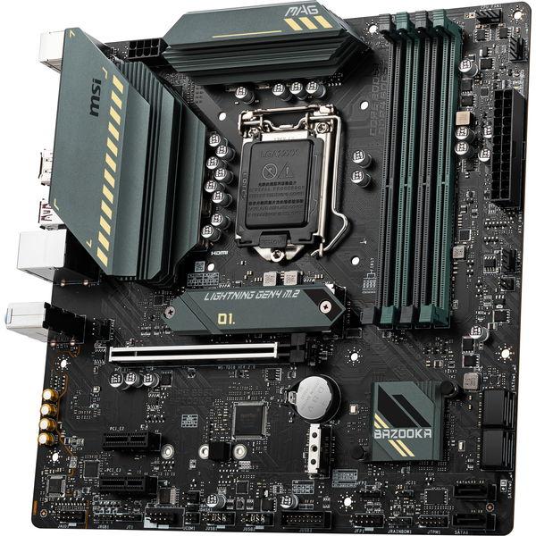 マザーボード MSI MAG B560M BAZOOKA MicroATX LGA1200 INTEL B560 intel第11世代対応 [MAGB560MBAZOOKA]