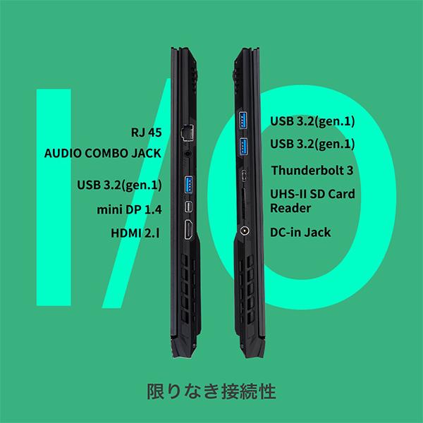 """GIGABYTE ギガバイト ゲーミングノート AERO 15 OLED YC-9JP5760SP CPU CML-Hi9-10980HK VGA RTX 3080Q メモリー 32Gx2 ディスプレイ 15.6"""" Samsung UHD OLED 搭載"""
