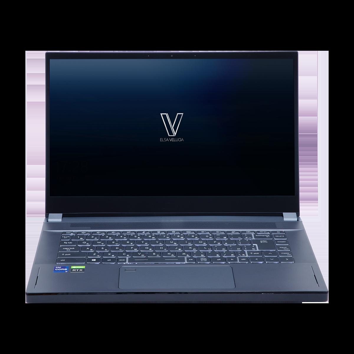 VELUGA A5000 G3-15(Ubuntu版))15.6インチ / Core i9 11900H / RTX A5000 / メモリ 64GB / SSD 2TB /Ubuntu / ノートパソコン ELSA エルザ モバイルワークステーション ELVG315-i9A5K6412SUR 【代引・日時指定・キャンセル不可・北海道沖縄離島配送不可】