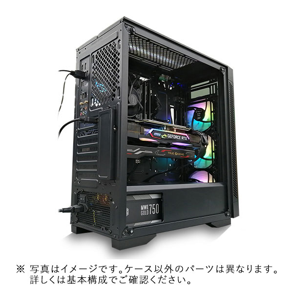 【Sengoku Gaming×アプライド コラボモデル】(Core i5-11400/メモリ:DDR4 16GB(8GBx2)/SSD:500GB/HDD:-/電源:550W 80PLUS Bronze/グラボ:GTX1660Super) sengoku-395295 カスタマイズ可能 BTOパソコン ゲーミングPC 55V3