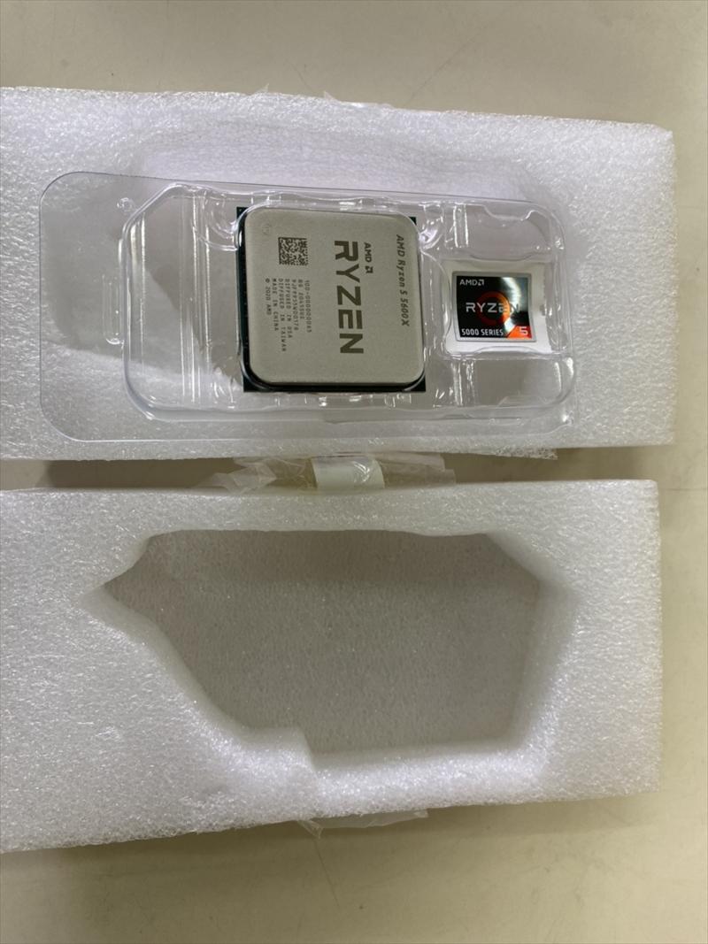 <<バルク品>>【並行輸入品】 CPU AMD エーエムディー Ryzen 5 5600X バルク クロック周波数:3.7GHz ソケット形状:Socket AM4 二次キャッシュ:3MB [Ryzen55600XMPK]