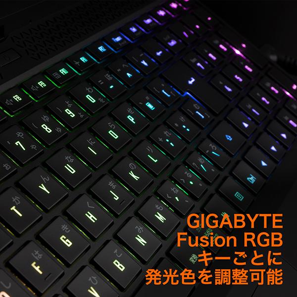 15.6インチ / Core i7 / RTX 3070 Laptop / メモリ32GB / SSD 512GB / Win10 home / ゲーミングノートパソコン GIGABYTE ギガバイト AORUS 15G XC-8JP2430SH