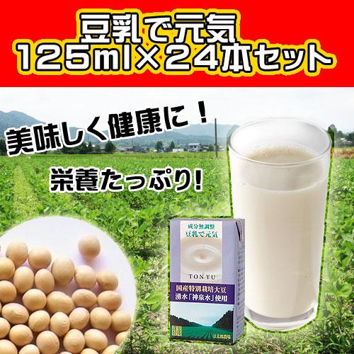 豆乳で元気★125ml×24本