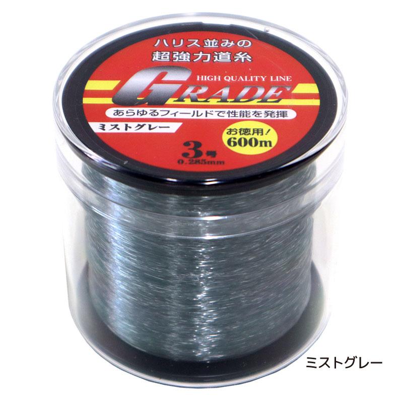 ナイロンライン GRADE 3号 0.285mm 600m巻 超強力道糸 釣り具 フィッシング