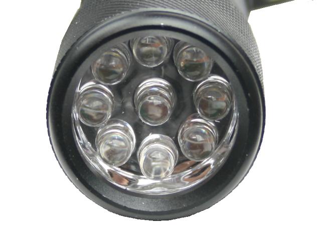 UVライト 9灯 KMY-1584 テスト電池付 紫外線ライト 釣具 WAVE GEAR