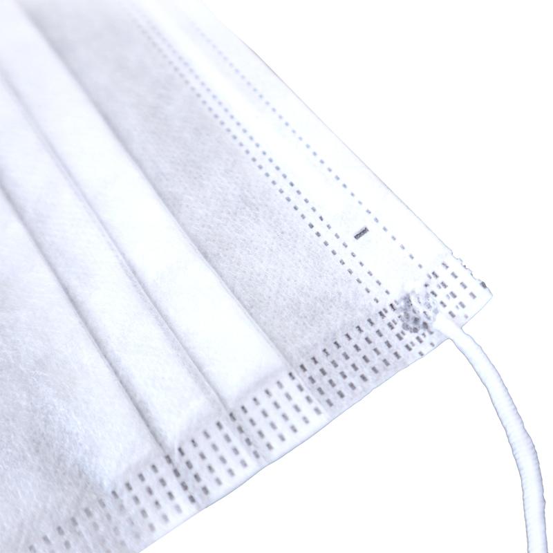 使い捨てマスク 大判サイズ 175mm×95mm 白 お得用50枚入り 3層式 花粉 ウイルス対策 即納在庫あります