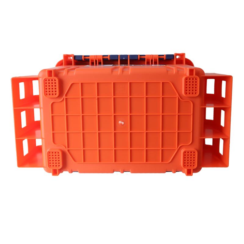 バケットマウス BM-5000 オレンジ 明邦化学工業 440×293×293mm 20L 釣り用収納ハードボックス