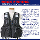 磯釣り用ライフジャケット BSJ-180R HIGH TIDE ブラック タイプL2 レジャー用ライフジャケット BLUESTORM 高階救命器具