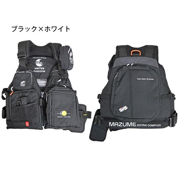フィッシング用フローティングベスト MZXタイドマニアライフジャケット MZXLJ-049 MAZUME